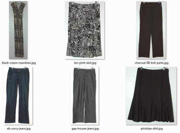 Pants, Skirts, and Dress Purged - May 2015