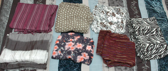 Purged Scarves - May 2015