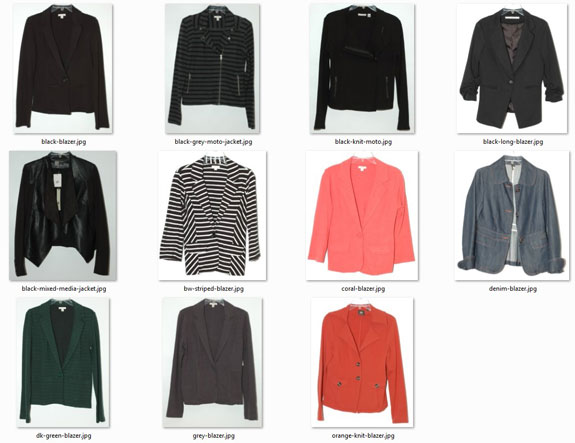 My 11 Short Jackets and Blazers