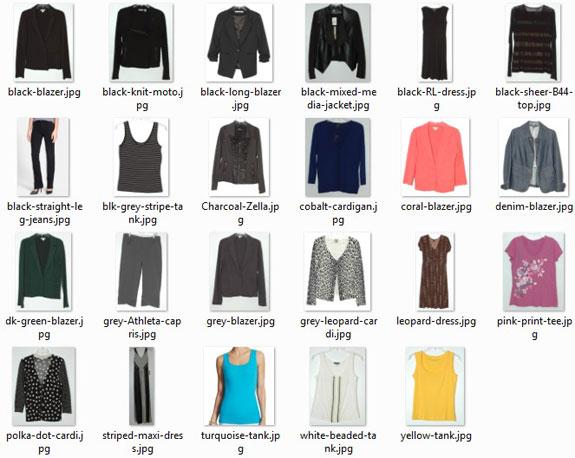June 2015 -unworn clothes thumbnails