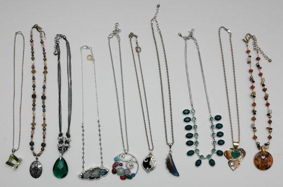 June 2015 - unworn necklaces