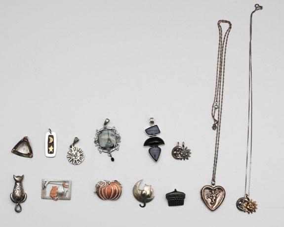 June 2015 - unworn pins and pendants