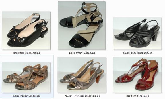 June 2015 - unworn shoes