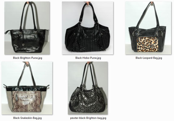 June 2015 working closet - purses