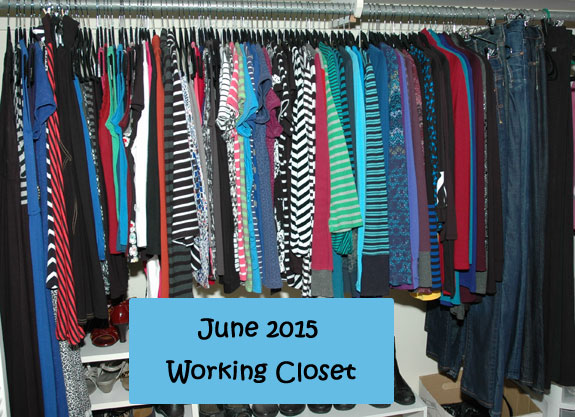 June 2015 working closet