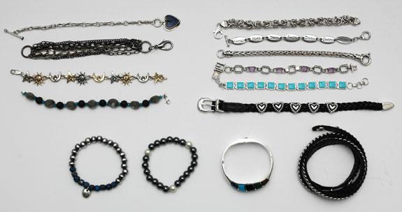 June 2015 - bracelets worn