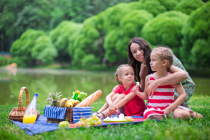 Summer family picnic