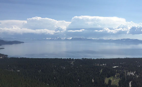 lake tahoe clouds
