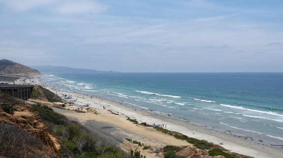 Gorgeous Torrey Pines Beach