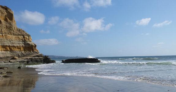 Walking to Black's Beach
