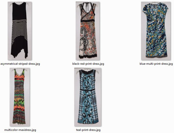 August and September 2015 - new dresses