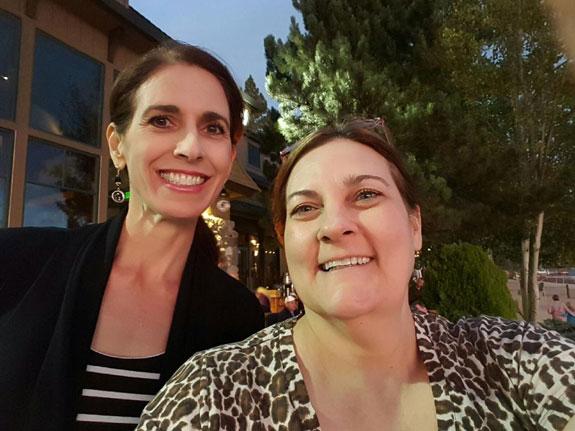 Debbie and Julie at Hyatt Regency Incline Village