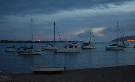 Shelter Island at twilight