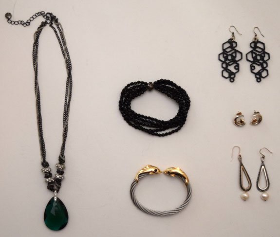 unworn jewelry pieces -October 2015
