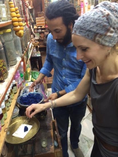 purchasing raw indigo