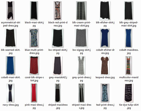 Summer Wardrobe - Dresses and Skirts