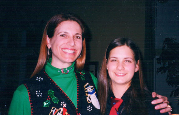 With Kerry, early 2000's
