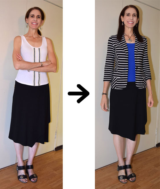 Shortening Eileen Fisher Skirt