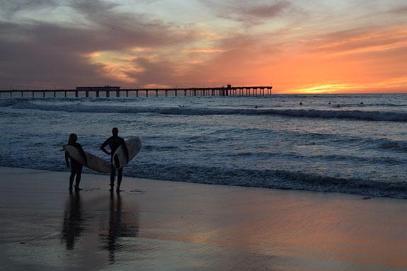 Ocean Beach Sunset