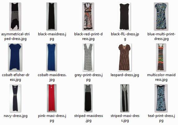 dresses worn - 2015