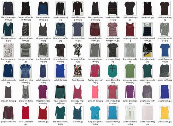 tops worn - 2015