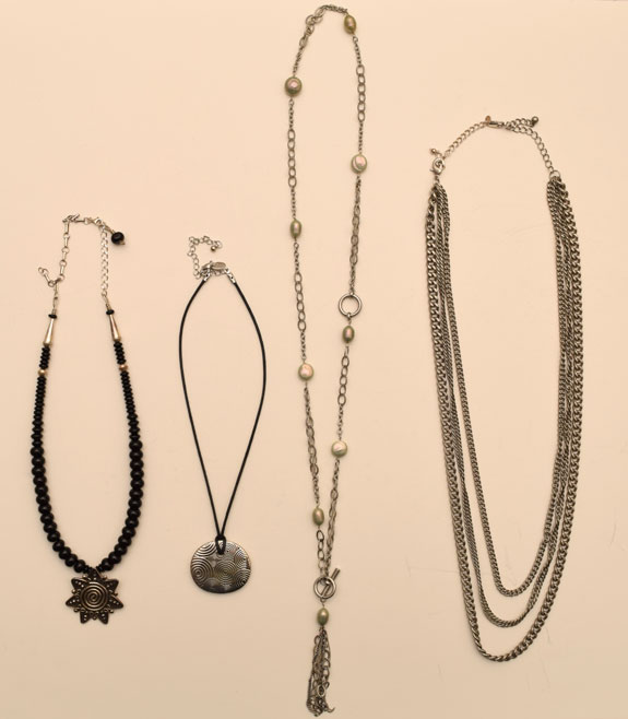 January 2016 - necklaces worn