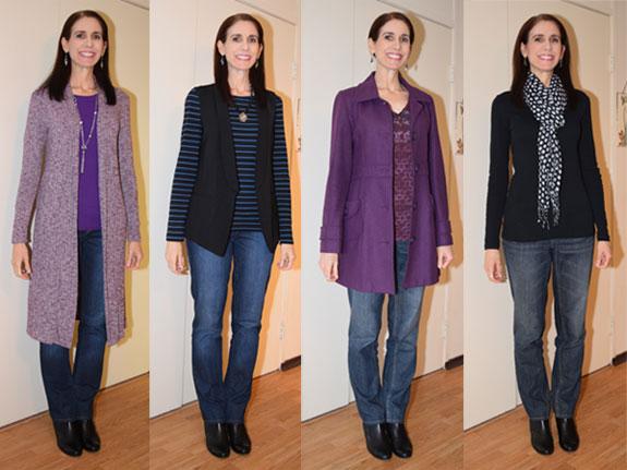 January 2016 outfits