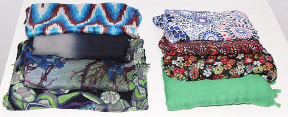 scarves worn - 2015