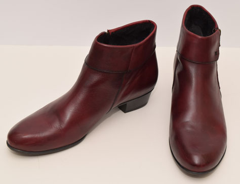 new burgundy boots