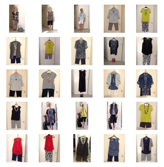 Dianne's capsule wardrobe