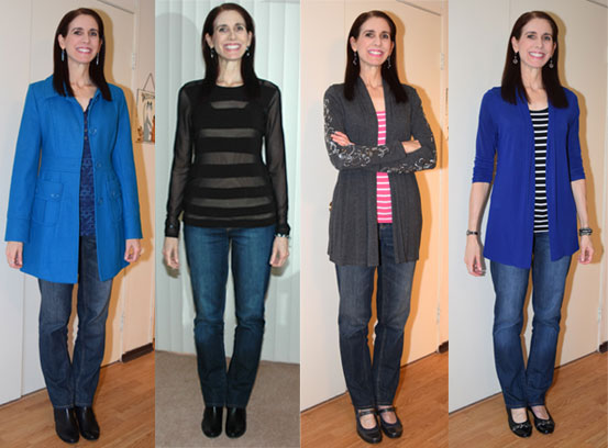 february 2016 - favorite outfits 1-4