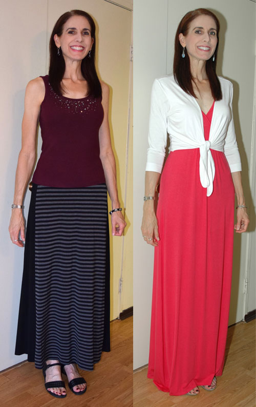 """April 2015 """"on the fence"""" item outfits"""