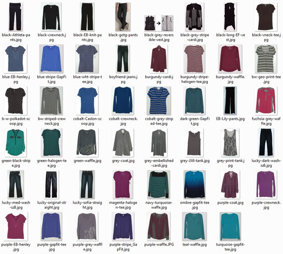 march 2016 clothes worn