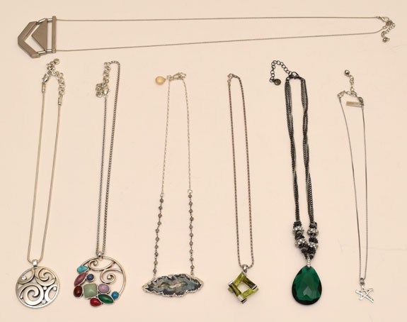 purged necklaces