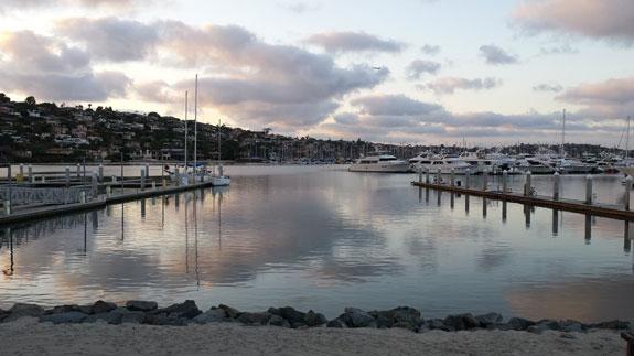 Shelter Island Marina boat docks
