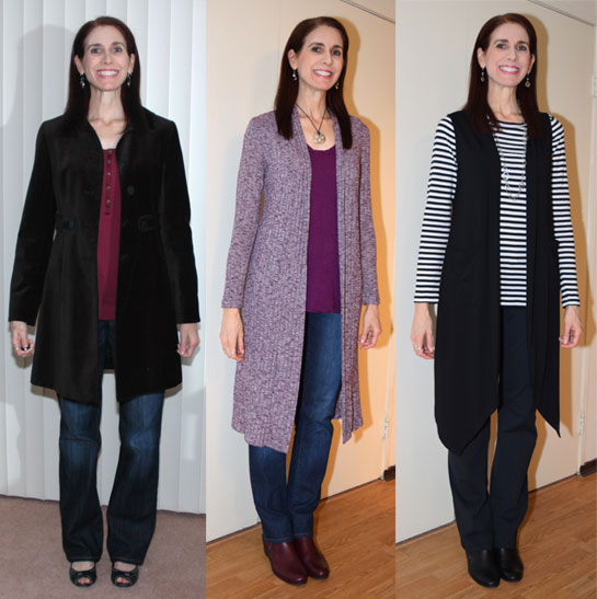 Long topper outfits