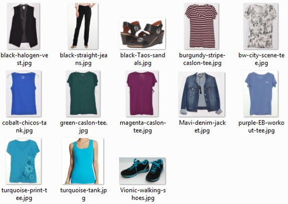 May - July 2015 items I still have