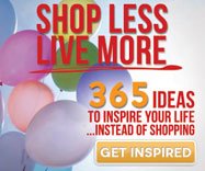 Shop Less and Live More