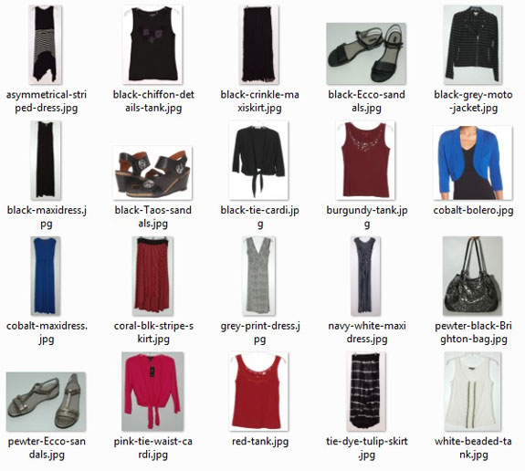 July 2016 Texas Trip Capsule Wardrobe