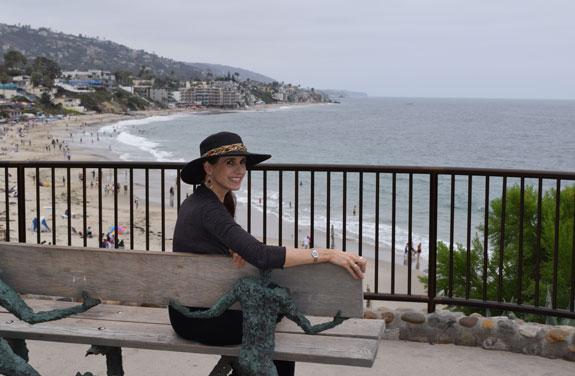 Laguna Beach hillside view