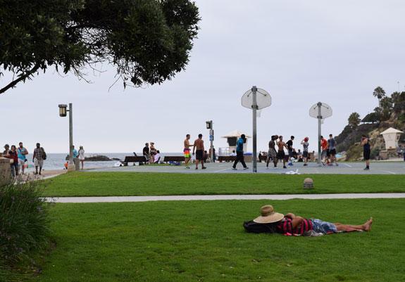Laguna Beach siesta