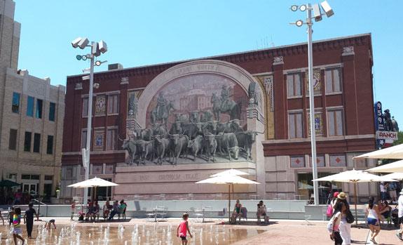 Sundance Square Plaza mural