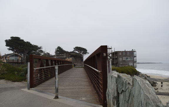 Half Moon Bay path