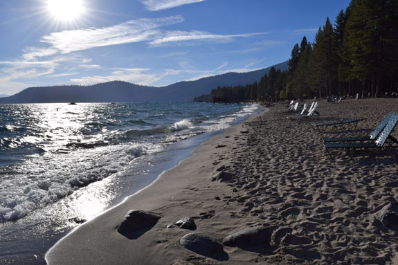 Incline Beach, Lake Tahoe