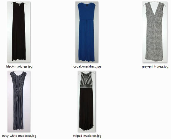 Summer 2016 Project 333 Dresses