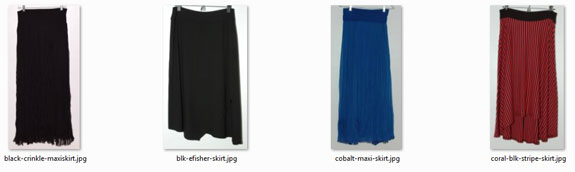 Summer 2016 Project 333 Skirts