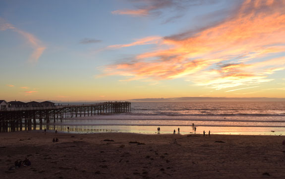 Pacific Beach sunset