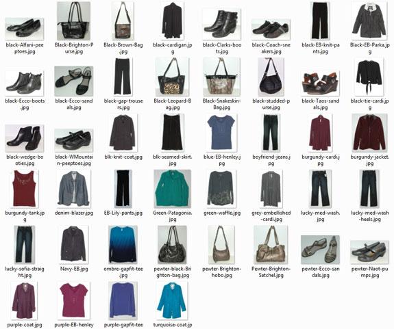 Items worn 30 plus times