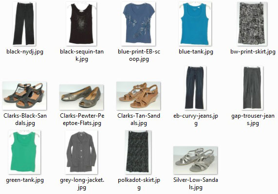 Items Purged in 2015 that were worn 30-plus times