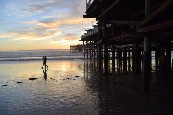 Crystal Pier, Pacific Beach